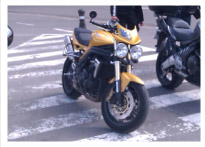 Triumph Speed Triple 2006 Scorched Yellow